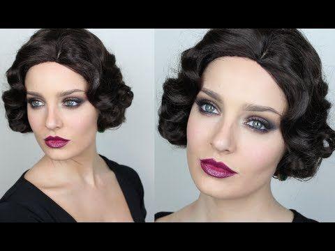 17 Best Ideas About Gatsby Makeup On Pinterest | Gatsby Hair Great Gatsby Makeup And 1920 Makeup