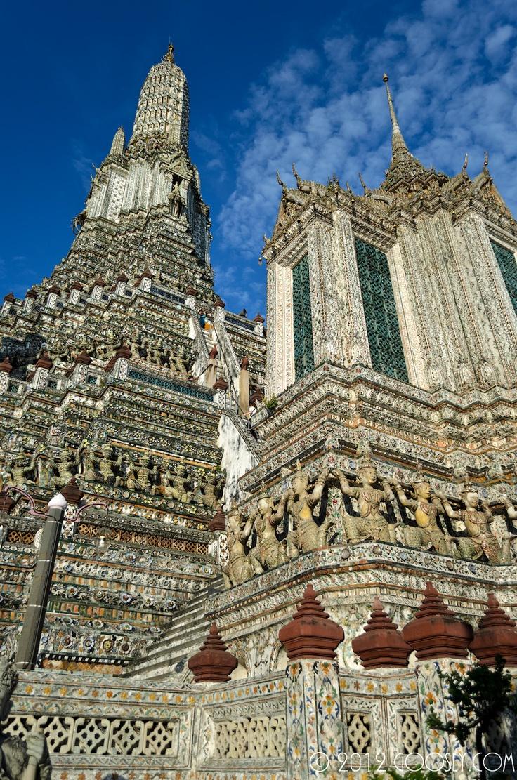 Tailand, Bangkok, Wat Arun, http://www.goosly.com/2012/02/2.html