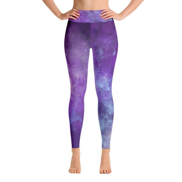 Purple Galaxy Yoga Leggings //99$ & FREE Shipping //     #bylorene