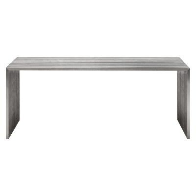 Silver Dining Table Zm Home Stainless Steel Tables