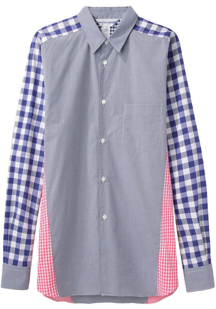 COMME DES GARÇONS SHIRT MAN | Mixed Check Shirt | Shop at La Garçonne