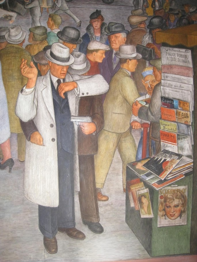 29 best images about coit tower murals on pinterest for Diego rivera san francisco mural