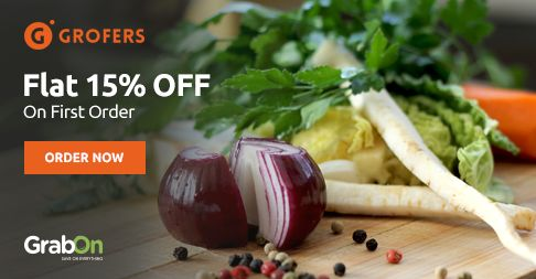 Time To Prepare Your #Grocery Shopping List! #Grofers Offers Flat 15% On First Order. http://www.grabon.in/grofers-coupons/