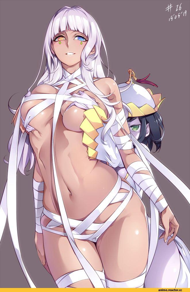 Anime,аниме,Nephthys (ToAru),Anime Adult,Взрослые Няшки,Niang Niang,ToAru,To Aru Majutsu no Index, To Aru Kagaku no Railgun,Anime Adult Action