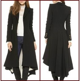 Bane Inspired Pleated Long Coat