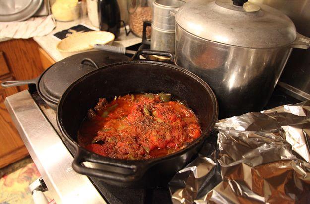 Kay Robertson's recipe for Swiss steak. - great for deer meat cube steaks