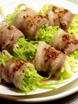 【レンジで簡単】春キャベツの豚バラ巻き。 レシピ・作り方