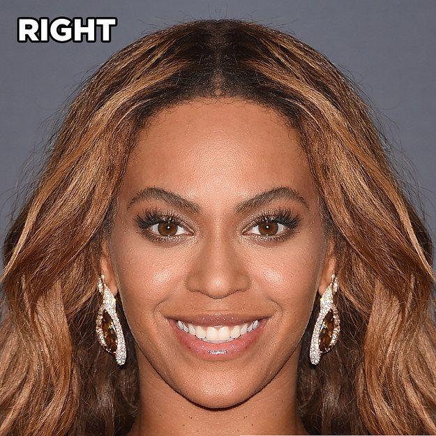 Beyoncé   Voici à quoi ressembleraient 15 célébrités si leur visage était symétrique
