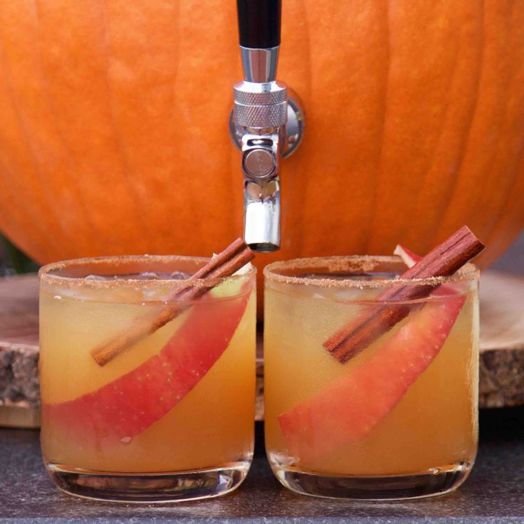 Wow guests with a batch of this homemade pumpkin spice apple cider made  with Simply Organic