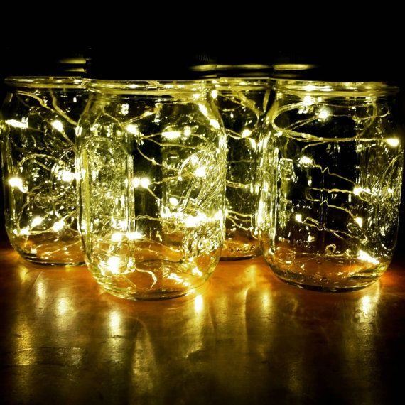 Sale Firefly Lights with Mason Jar Wedding by MateriaQuality