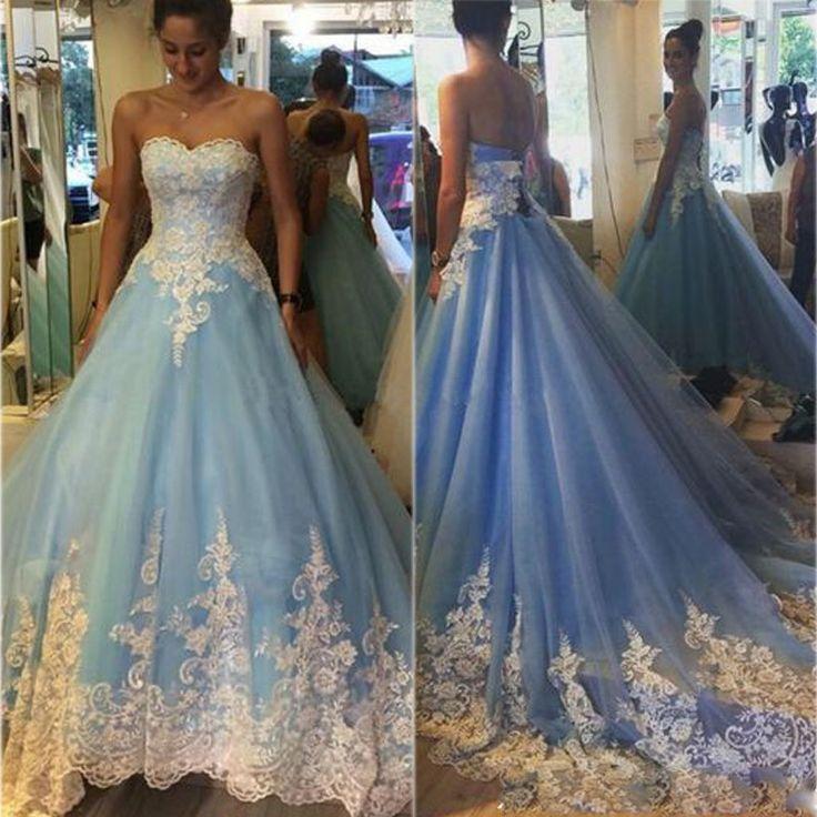 Prom Dresses,Evening Dress,Prom Dresses,Prom Dress,Modest Prom Gown,Lace-Appliques Elegant