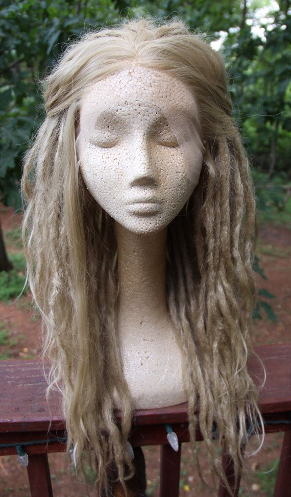 Custom Dreadlock Wig Synthetic Lace Front by SisterSarahsShop