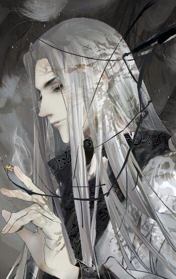 Lord Orin of Winter Court <--previous pinner's words (this looks cropped. Anyone know who the artist is?)