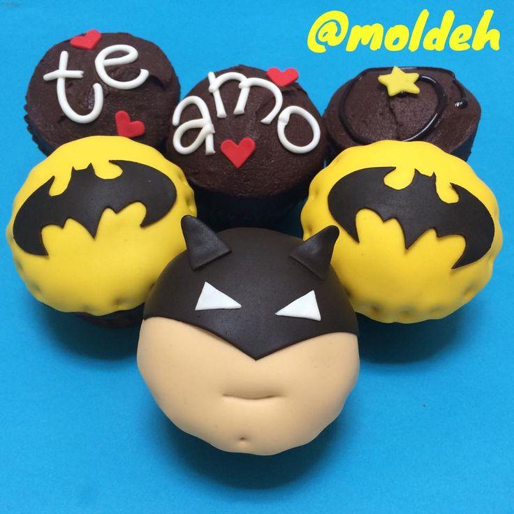 Cupcakes de Batman <3