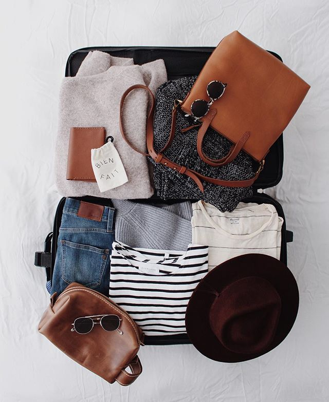 Stylish travel essentials