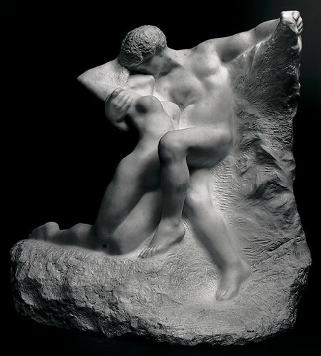 Auguste Rodin (French, 1840–1917). Eternal Spring, also known as Eternal Springtime, probably modeled 1881, this marble executed 1906–7. The Metropolitan Museum of Art, New York. Bequest of Isaac D. Fletcher, 1917 (17.120.184)