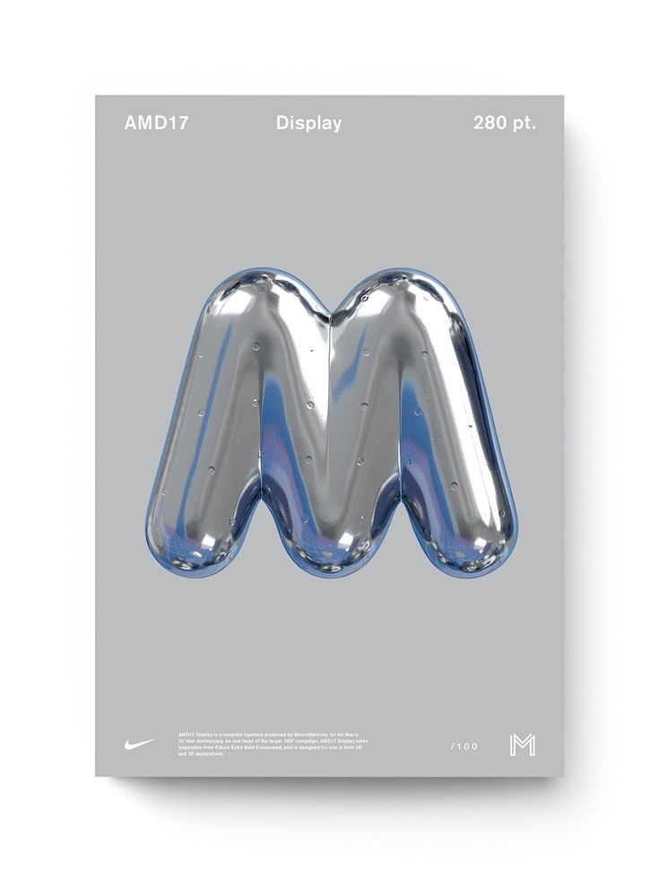 It's Nice That   The re-revolution of Air Max: ManvsMachine celebrates 30 years of a sneaker icon