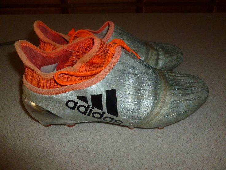 Adidas X Purechaos FG Soccer Cleats Shoes Silver Youth sz 4 #adidas