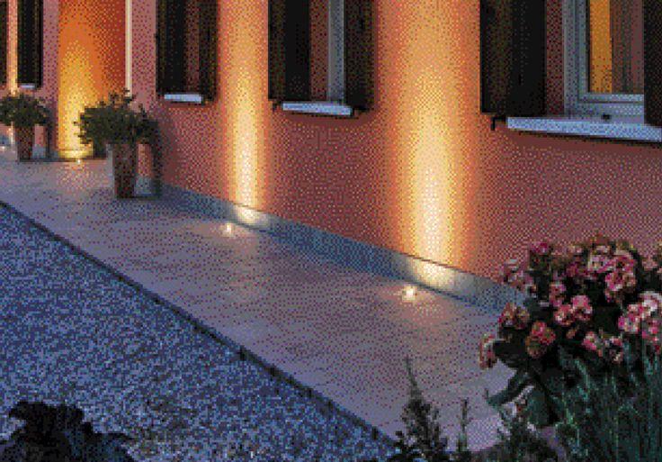 CADMO - Recessed floor spotlight, ideal for the lighting of gardens, sidewalks and paths. #LED #light_e_design #design #illumination #lamp #lightdesign #outdoor #lighting #lamp #pendant #iluminacion #decor #home #decoracion #lampara