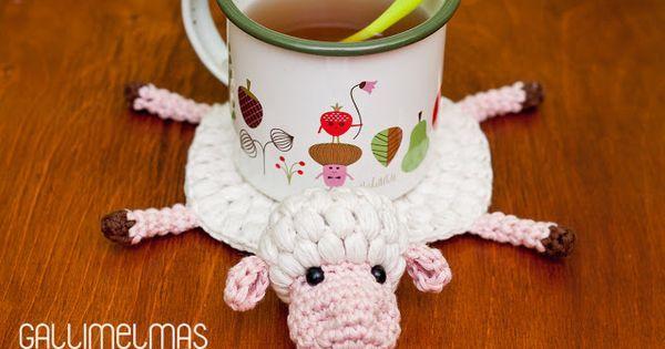 DIY Sheep Coaster Pa | Rebecca's Soap Delicatessen - Pinterest | Bloglovin'