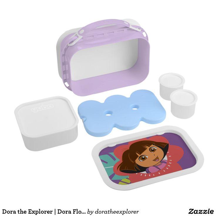 Dora the Explorer   Dora Flower Smile. Producto disponible en tienda Zazzle. Product available in Zazzle store. Regalos, Gifts. #lonchera #LunchBox
