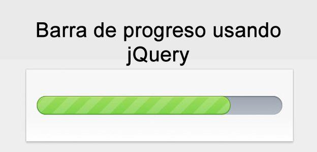 Cómo hacer una barra de progreso usando Jquery y CSS3. Guía rápida para crear una barra de progreso. #jQuery #programacion #web #desarrolloweb