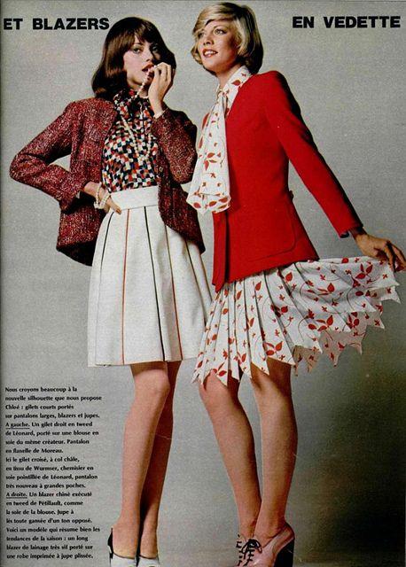 1970s Pleated Skirt, 1970s, fashion, womenswear, style