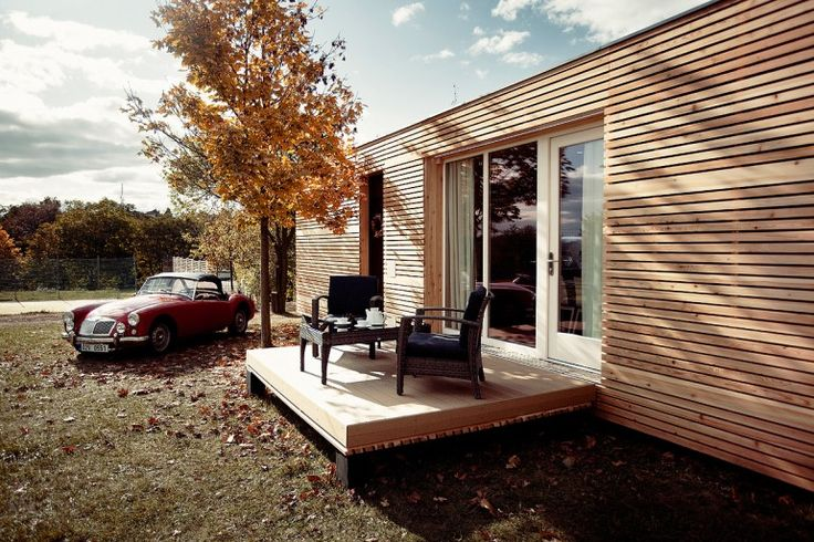"""Czech architect Marek Štěpán and his studio Atelier Štěpán has come up with a stylish take on the prefabricated home designed for affordable off-grid living. Though compact, the ""Freedomky"" nevertheless comes complete with laundry and cooking facilities as well as security and heating systems."" - the Source 