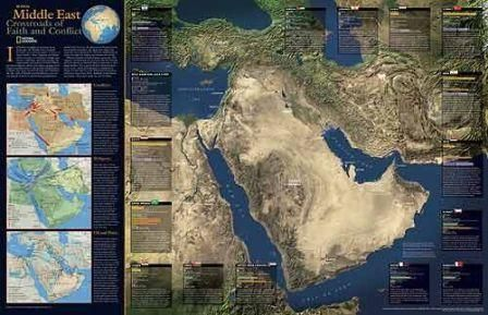 *-*Mapy sveta - ARABSKÝ   POLOOSTROV