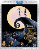 The Nightmare Before Christmas [3 Discs] [Includes Digital Copy] [3D] [Blu-ray/DVD] [Blu-ray/Blu-ray 3D/DVD] [Eng/Fre/Spa] [1993]