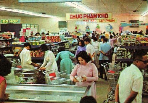 Nam Ròm: Hình xưa Siêu Thị Nguyễn Du Sài Gòn 1967