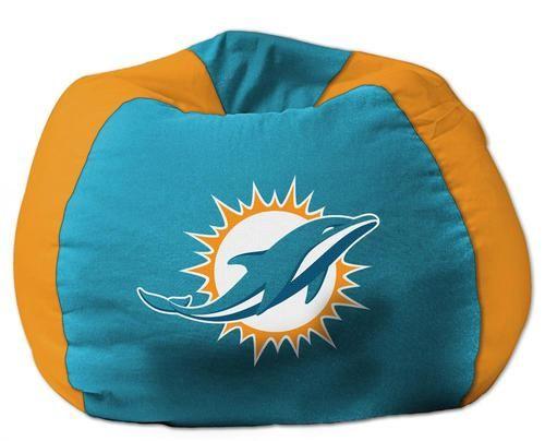 Kids Miami Dolphins Bean Bag Chair Beanbag