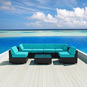 Luxxella Patio Wicker Sunbrella Collection ... by Luxxella for $1,521.06 http://amzn.to/2j5nwg0