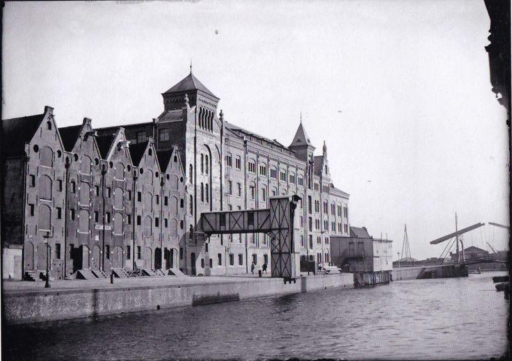 Amsterdam, Zoutkeetsgracht, Stoom Meel- en Broodfabriek Holland.