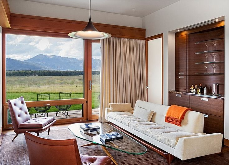 Charming Wooden Getaway in Jackson, Wyoming: Rabbit Brush Residence
