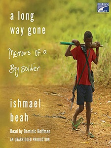 A Long Way Gone:  Memoirs of a Boy Soldier by Ishmael Beah  If I ever get stressed about life my new mantra: at least I'm not a boy soldier.  What a story, Ishmael inspires me.