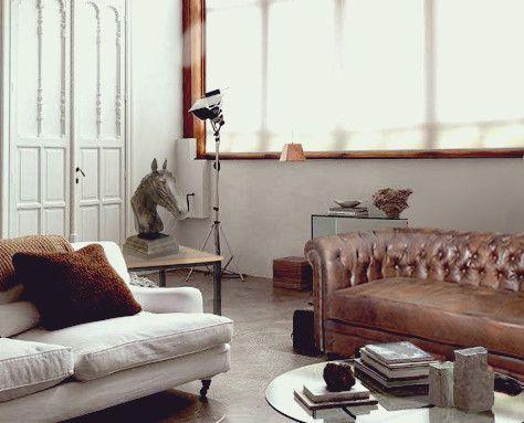 34 best azul tierra images on pinterest barcelona - Sofa chester barcelona ...