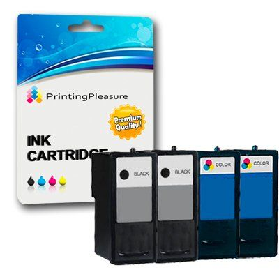Remanufactured Dell Series 7 TWO SETS (2 x Black & 2 x Colour) Ink Cartridges For Dell All In One 966, 968 - 2 x Dell Series 7 black 2 x Dell Series 7 Colour  - http://ink-cartridges-ireland.com/remanufactured-dell-series-7-two-sets-2-x-black-2-x-colour-ink-cartridges-for-dell-all-in-one-966-968/ - (2, (One, 966, 968, All, black, Cartridges, Colour, DELL, For, in, Ink, Remanufactured, Series, SETS), TWO