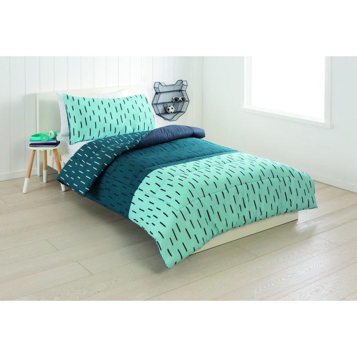 Reversible Henry Comforter Set - Single Bed | Kmart