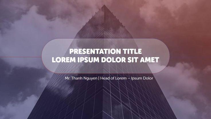 #Powerpoint #template #design #business