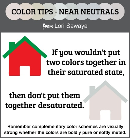 Heres A Tip For Using Near Neutrals In The 3 D Built Environment Architectural