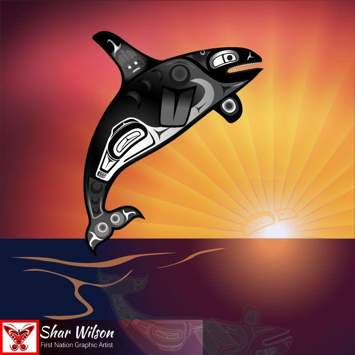 Orca Sunset
