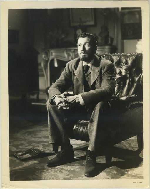 Walter Pidgeon as Pierre Curie in MADAME CURIE - Click through for full biography.