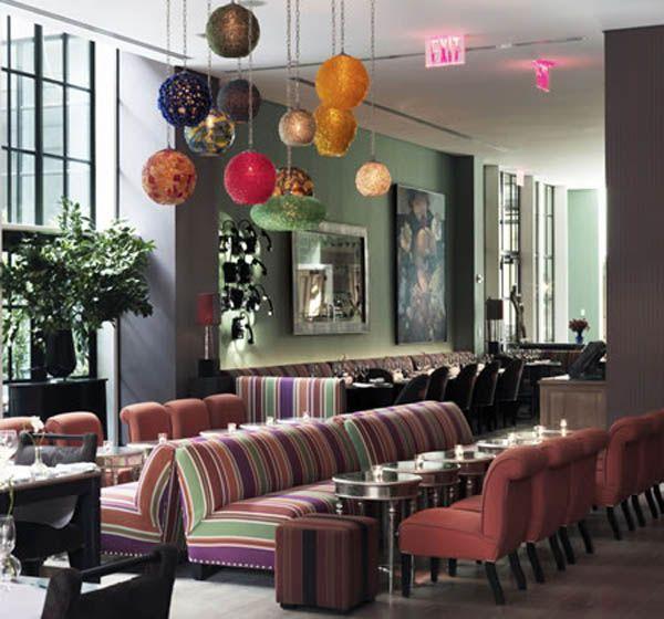 Commercial Interiors Design Restaurant Guide Hotel New York City Restaurants Nyc