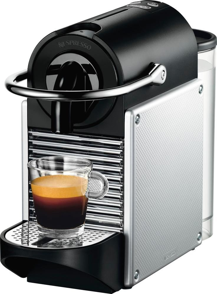DeLonghi Nespresso Pixie Coffee Maker and Espresso Machine