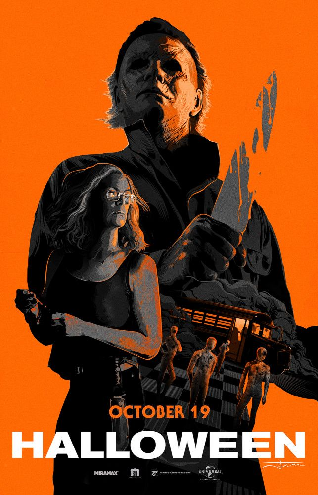 Halloween 2018 Fan Poster.Halloween Movie Poster Halloween 2018 Fan Posters In 2019