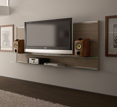 good looking floating tv shelves wood projects pinterest shelf ideas entertainment units. Black Bedroom Furniture Sets. Home Design Ideas