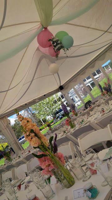 #PeppersConvent #TowerLodge #vintage #wedding #pastel #flowers #whitefoldingchairs #HunterValleyWeddings #huntervalley #pokolbin #paper #lanterns