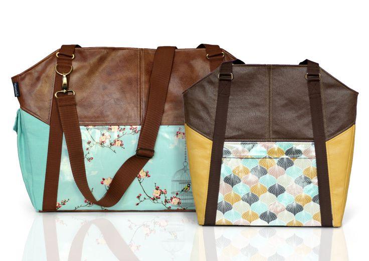 Ebook Tasche Lexa/ Lexa big, Businessbag und Weekender - Nähanleitungen bei Makerist