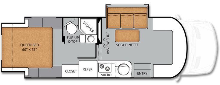 37 best van dwellers images on pinterest van dwelling for Mercedes benz class c motorhome